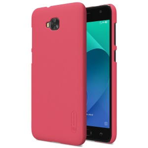 NILLKIN Super Frosted Shield Plastic Hard Mobile Phone Casing for Asus Zenfone 4 Selfie ZD553KL/4 Selfie ZB553KL/4 Selfie Lite ZB553KL - Red