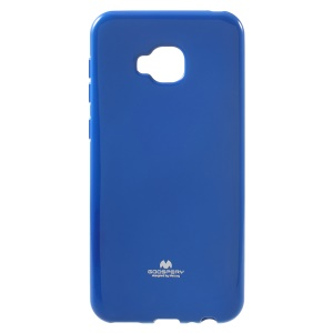 MERCURY GOOSPERY Glitter Powder TPU Case Accessory for Asus Zenfone 4 Selfie Pro ZD552KL - Blue