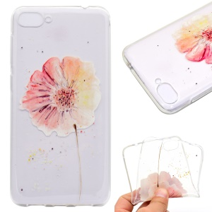 For Asus Zenfone 4 Max ZC520KL Pattern Printing Soft TPU Phone Accessory Shell - Vivid Flower