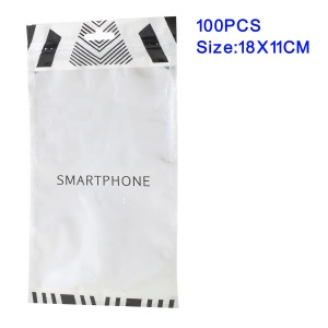 100Pcs/Lot Ziplock Bag Retail Packaging Bags for Phone Cases, Inner Size: 18 x 11cm