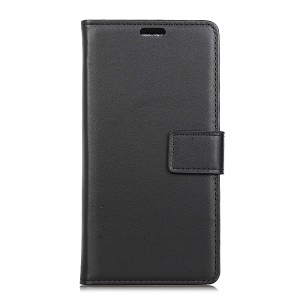 Wallet Leather Stand Case for Asus Zenfone Max (M1) ZB555KL - Black