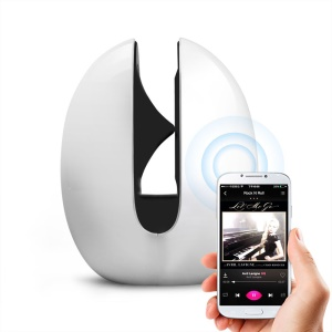 MOCREO MOSOUND Echoes 5W Portable Wireless Bluetooth Speaker w/ Touch Switch, Built-in Mic - White