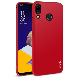 IMAK Jazz Skin Feel PC Case + Screen Film for Asus Zenfone 5Z ZS620KL/5 ZE620KL - Red