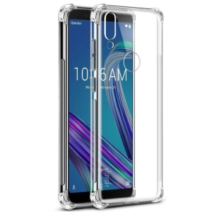 IMAK Skin Feel Airbag Shockproof TPU Casing for Asus Zenfone Max Pro (M1) ZB601KL/Max Pro (ZB602KL) - Transparent
