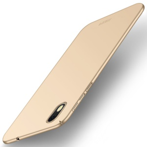 MOFI Shield Frosted Plastic Cell Phone Case for Asus ZenFone Live (L1) ZA550KL - Gold