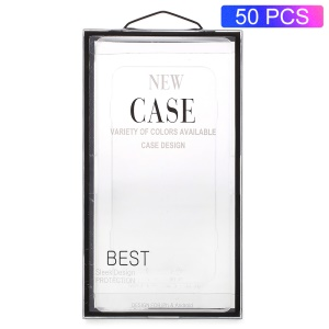 50PCS/Lot Plastic Packaging Box for iPhone 8/7/6s/6 Case