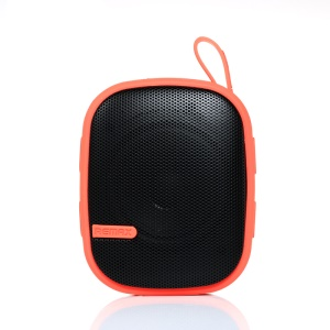 REMAX RM-X2 Mini 2 in 1 Wireless Bluetooth Speaker with Mountaineering Buckle - Red