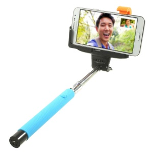KJstar Z07-5 Extendable Handheld Wireless Bluetooth Monopod for iOS and Android - Blue