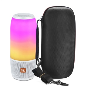 Portable Shockproof Nylon Speaker Protection Hard Case Bag for JBL Pulse 3 / Charge 3 - Black