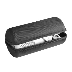 Nylon Carbon Fiber Shock-resistant Portable Storage Bag for BOSE Soundlink Revolve+ - Black