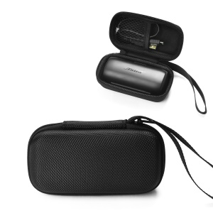 Portable Nylon Carbon Fiber Headphone Storage Bag for BOSE SoundSport Free