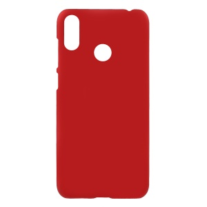 Rubberized PC Shell for Asus Zenfone Max (M2) ZB633KL - Red