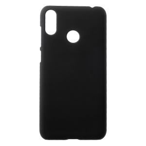 Rubberized PC Phone Shell for Asus Zenfone Max (M2) ZB633KL - Black
