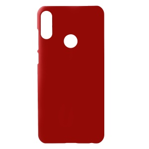 Rubberized PC Hard Mobile Case for Asus Zenfone Max Pro (M2) ZB631KL - Red