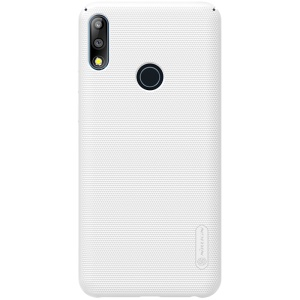 NILLKIN Super Frosted Shield Hard Plastic Case for Asus Zenfone Max Pro (M2) ZB631KL - White