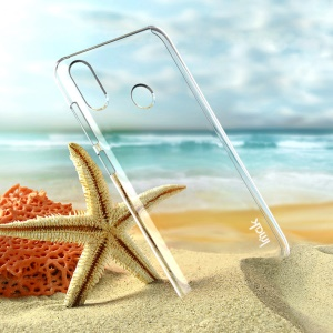 IMAK Crystal Case II Anti-scratch Clear PC Phone Cover + Screen Protector for Asus Zenfone Max (M2) ZB633KL