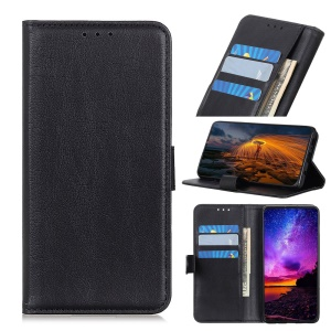Wallet Stand Leather Phone Case for Asus Zenfone 6 ZS630KL - Black