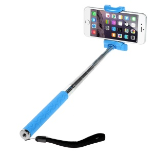 KJSTAR Z06-1 Extendable Handheld Selfie Monopod for iPhone 6 Plus Samsung Galaxy S6 Etc - Blue