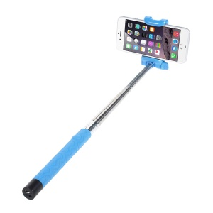 KJSTAR Z06-3 Bluetooth Selfie Stick Extendable Monopod for iPhone 6 Samsung Galaxy S6 Etc - Blue