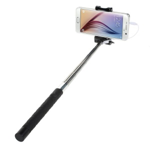 KJSTAR Z06-4 Handheld Selfie Monopod for iOS 5.0 / Android 4.2.2 above Smartphone - Black