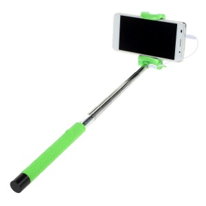 KJSTAR Z06-4 Handheld Selfie Monopod for iOS 5.0 / Android 4.2.2 above Smartphone - Green