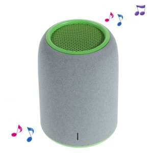 MINIKIN Mini Portable Bluetooth Speaker with Mic / AUX Function - Green / Light Grey