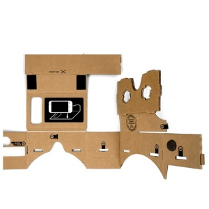 DIY 3D Google Cardboard Virtual Reality Glasses with NFC for 4-5.5 Inch Mobile Phone