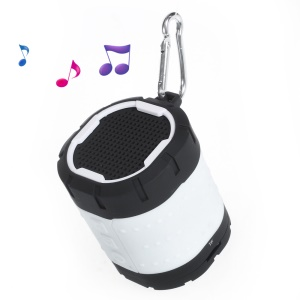 XC-29 Outdoor Sports Wireless Bluetooth Stereo Speaker Support TF Card - White
