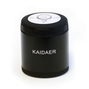 KAIDAER KD-06BT Portable Wireless Bluetooth Stereo Speaker - Black