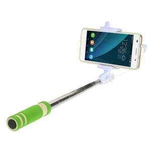 ZX-3S Mini Selfie Stick Monopod for iPhone Samsung Sony etc - Green