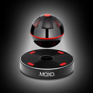 MOXO Wireless Magnetic Levitation Bluetooth Speaker with NFC for iPhone Samsung - Black
