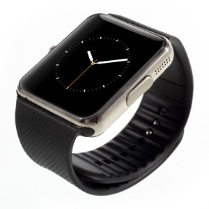 """GT08 Smart Watch Phone 1.5"""" Screen Dialer NFC Camera Sleep Monitoring Pedometer Anti-lost - Gold Color"""