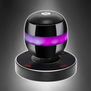 Magnetic Levitation Bluetooth Speaker with NFC Support Wireless Power for iPhone Samsung