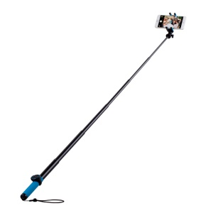 MOMAX Selfie Hero Touchless Stick Extendable Self-portrait Monopod - Blue / Yellow