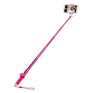 MOMAX Selfie Hero 100cm Touchless Selfie Pod with Bluetooth Remote Shutter - Rose