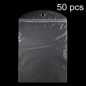 50Pcs/Lot Ziplock Clear Package Bag for Samsung Galaxy Note Pro 12.2 P900 /12.2 LTE SM-T905 Cases, Size: 26.5 x 21cm