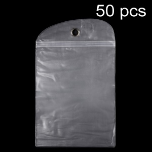 50Pcs/Lot Ziplock Clear Package Bag for iPad Air 2 / Samsung Galaxy Tab 10.1 P7100 Cases, Size: 22 x 17.5cm