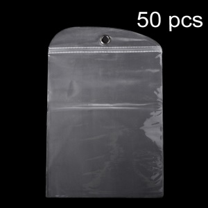 50Pcs/Lot Ziplock Clear Packaging Bag Package for iPad Pro 12.9 inch Cases, Size: 30 x 23.5cm