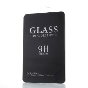Retail Package Box for iPhone 6s Plus Tempered Glass Films, Size: 15.8 x 7.8 x 0.5cm - All Black