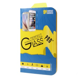 Tempered Glass Films Paper Package Box for iPhone 6s 6, Size: 15.2 x 8.1 x 0.4cm - Wave Style / Blue + Yellow