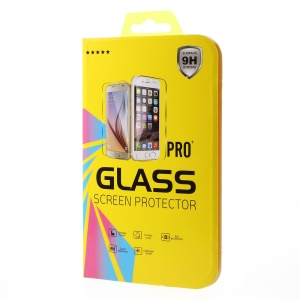 Rtail Package Box for iPhone 6s 6 Tempered Glass Films, Size: 15.2 x 8.1 x 0.4cm - Geometric Figure / Yellow