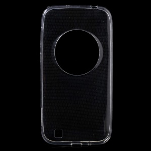 Ultra Slim TPU Shell Case for Asus Zenfone Zoom ZX551ML ZX550 - Transparent
