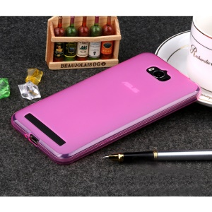 Double-sided Matte TPU Gel Cover for Asus Zenfone Max ZC550KL - Rose
