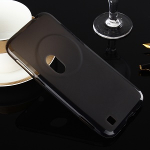 Double-sided Frosted TPU Case Cover for Asus Zenfone Zoom ZX551ML ZX550 - Grey