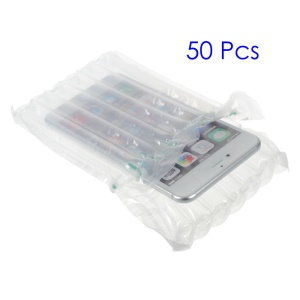 50Pcs/Set Air Inflatable Column Plastic Packing Bags, Size: 17 x 8.5cm