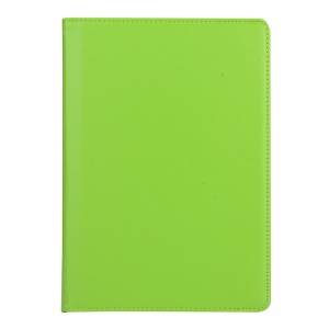 Litchi Skin Rotating Stand Leather Protective Case for Asus ZenPad 10 Z300C Z300CL Z300CG - Green