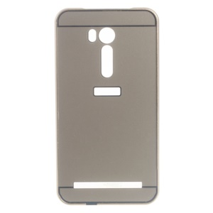 Sliding Metal Frame Plastic Hard Shell for Asus Zenfone Go TV ZB551KL - Gold