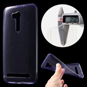Super Slim 0.5mm TPU Cover for Asus ZenFone Go /Go TV ZB551KL - Purple