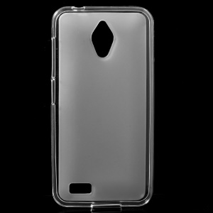 Double-sided Matte TPU Back Case for Asus Zenfone Live G500TG - Transparent