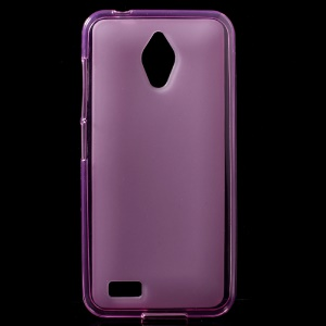 Double-sided Matte TPU Back Phone Case for Asus Zenfone Live G500TG - Rose